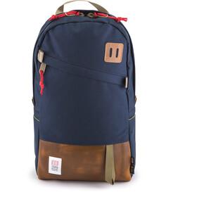 Topo Designs Daypack Leather, azul/marrón